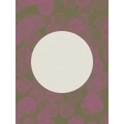 Autumn Day Journal Card- Circles
