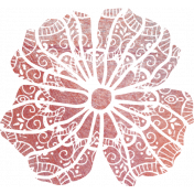 Bohemian Breeze Painty Bits- Flower 2