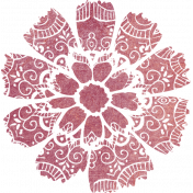 Bohemian Breeze Painty Bits- Flower 15