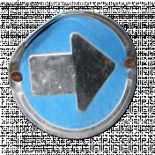 Metal Sign- Arrow
