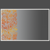 Frame With Floral Overlay and Gradient Overlay 2