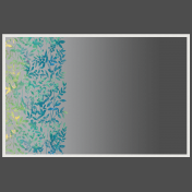 Frame With Floral Overlay And Gradient Overlay 3