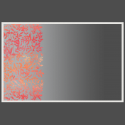 Frame With Floral Overlay And Gradient Overlay 4