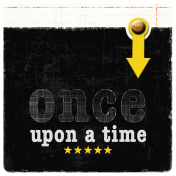 Once Upon A Time Journaling Card