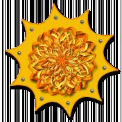 My Sun (flower)- with shadows