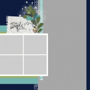 Simple Pleasures Multi-Photo Template- Page 2