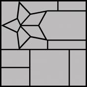 Star Grid Template