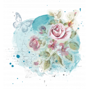 Floral overlay cluster