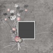 Pocket full of posies- Layered Template
