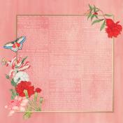 Framed Floral Background 01