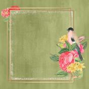 Framed Floral Background 02