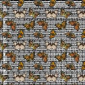 Transparent Butterflies Pattern 01