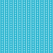 Blue and white snowflake and dots paper