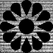 Flower Lia- shape template.