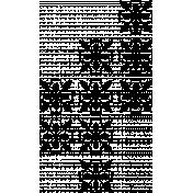 Background stamp #1- floral tiles