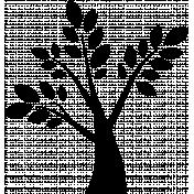 Tree Digital Stamp 2