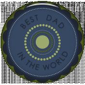 Dear Dad- Button 01