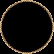 Sisal Rope Frame 6 Round(1)