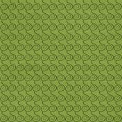 Green Spirals Paper