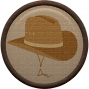 Cowboy Flair- Hat