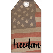 Faith, Family, Freedom Tag Set - Freedom