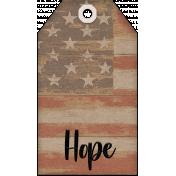 Faith, Family, Freedom Tag Set - Hope