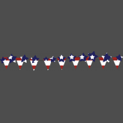 Stars and Stripes- Bunting