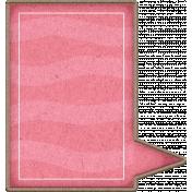 Chipboard Speech bubbles- Pink