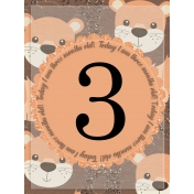 Baby Card, Month#3