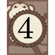 Baby Card, Month#4