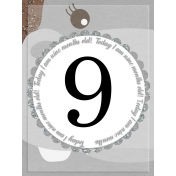Baby Card, Month#9