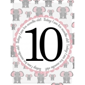 Baby Card, Month#10