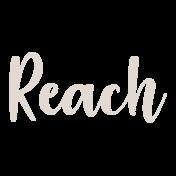 Reach August 2020 Blog train, reach rub on title