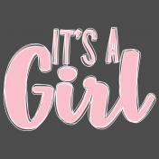 Noah's Ark - It's a Girl title