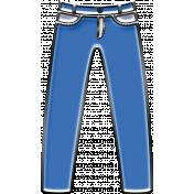 Just Me in Denim - Enamel pants jeans