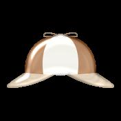 Detective Epoxy Sticker- #5