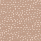 Brown Pet Paw Prints Paper