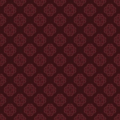 Dark Red Celtic Knot 04 Paper