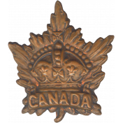 Canada Maple Leaf Element