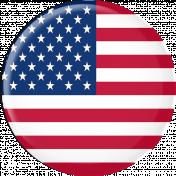 USA Flag Flair