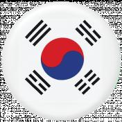 South Korea Flag Flair Brad