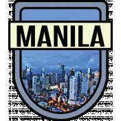 Manila Word Art Crest