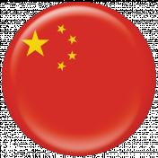 China Flag Flair Brad