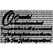 O Canada Anthem Word Art Graphic