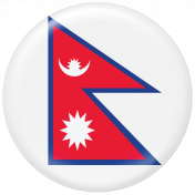 Nepal Flag Flair Brad