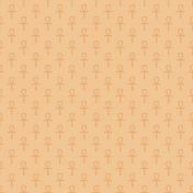 Yellow Ankh Egyptian Paper