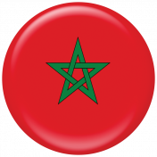 Morocco Flag Flair Brad