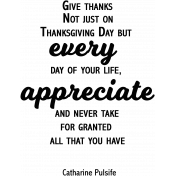 Every Quote GThanksWA Word Art