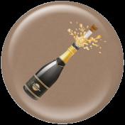 Champagne Bottle Ann Brad Flair