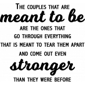 Stronger Quote AnnWA Word Art
